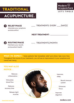 Acupuncture Treatment Plan